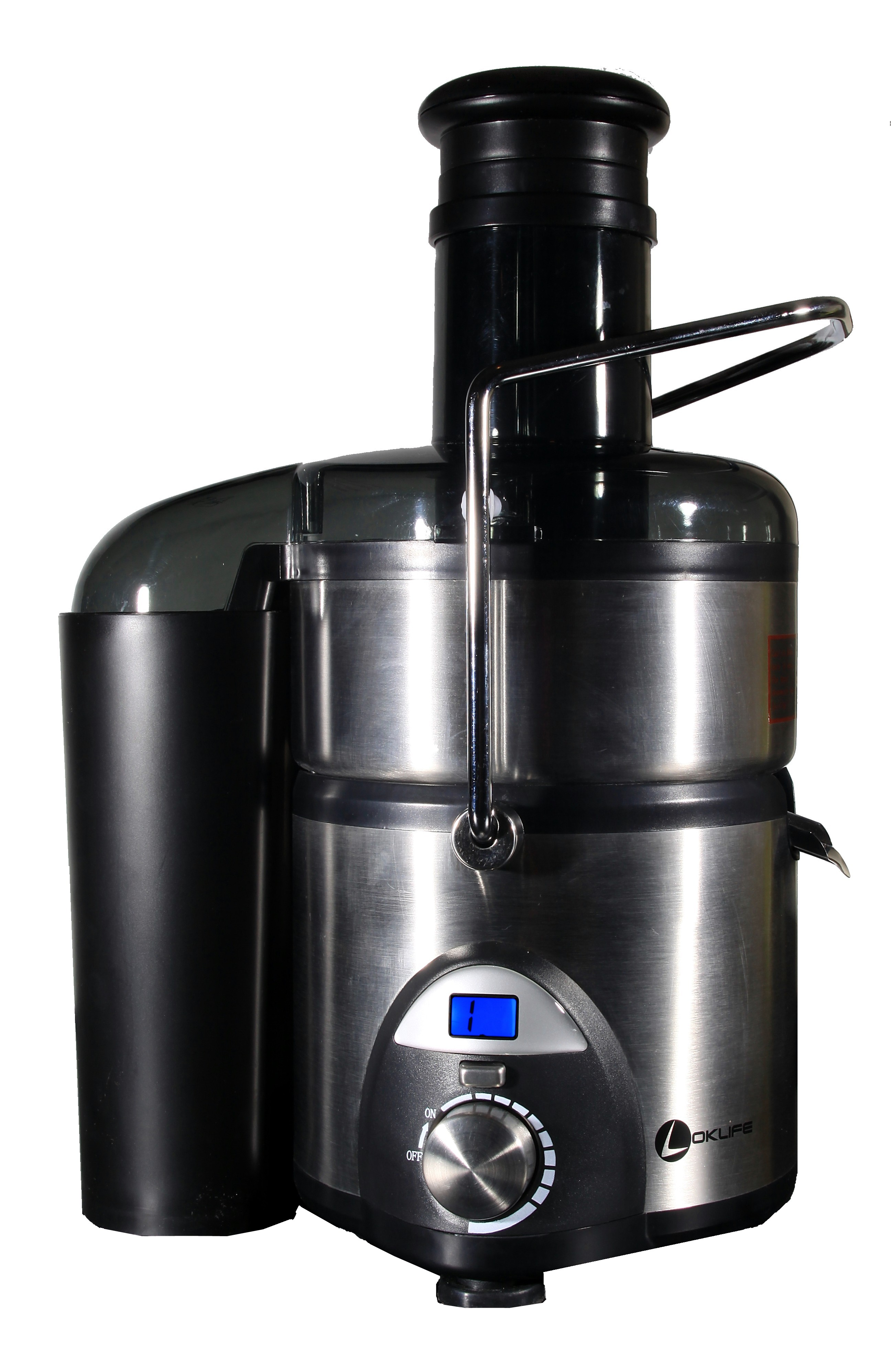 Best Juicer-Oklife 9-Speed Stainless Steel Juice Extractor